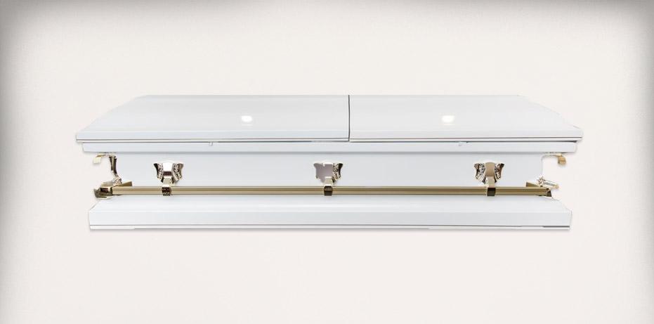 Batesville Spectre White Closed - Sunraysia Funerals