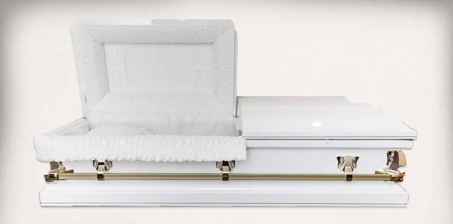 Batesville Spectre White Open - Sunraysia Funerals